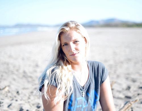 Portrait of photographer Kristen M. Brown in Tamarindo, Costa Rica