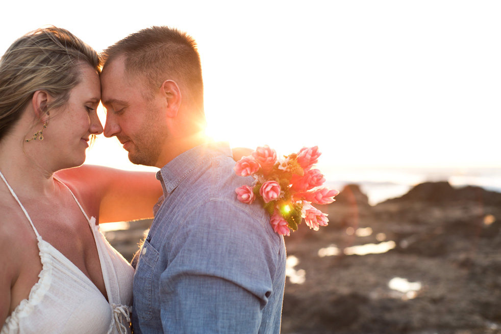 Wedding in Tamarindo, Costa Rica. Photographed by Kristen M. Brown, Samba to the Sea Photography.