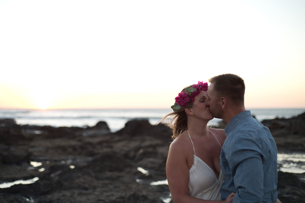 Wedding in Tamarindo, Guanacaste, Costa Rica. Photographed by Kristen M. Brown, Samba to the Sea Photography.
