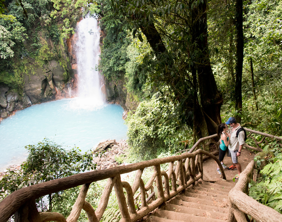 Rio Celeste, Costa Rica. Photographed by Kristen M. Brown, Samba to the Sea Photography.