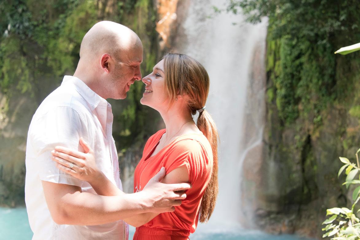 Rio Celeste Costa Rica Proposal- Alyssa + Taylor