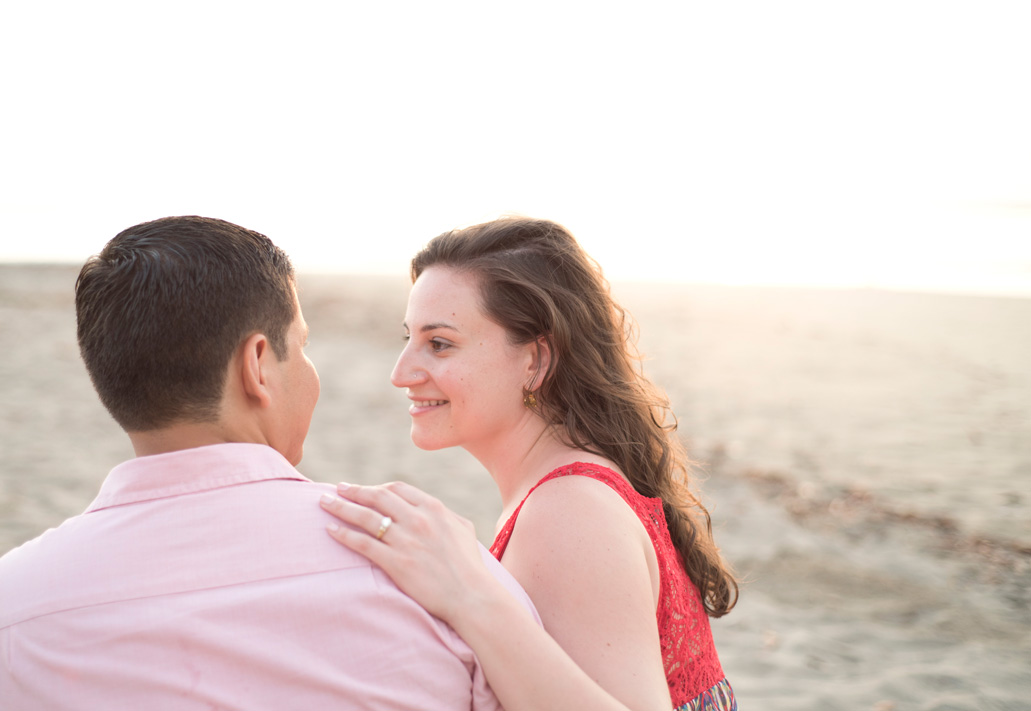 Engagement photos in Tamarindo, Costa Rica