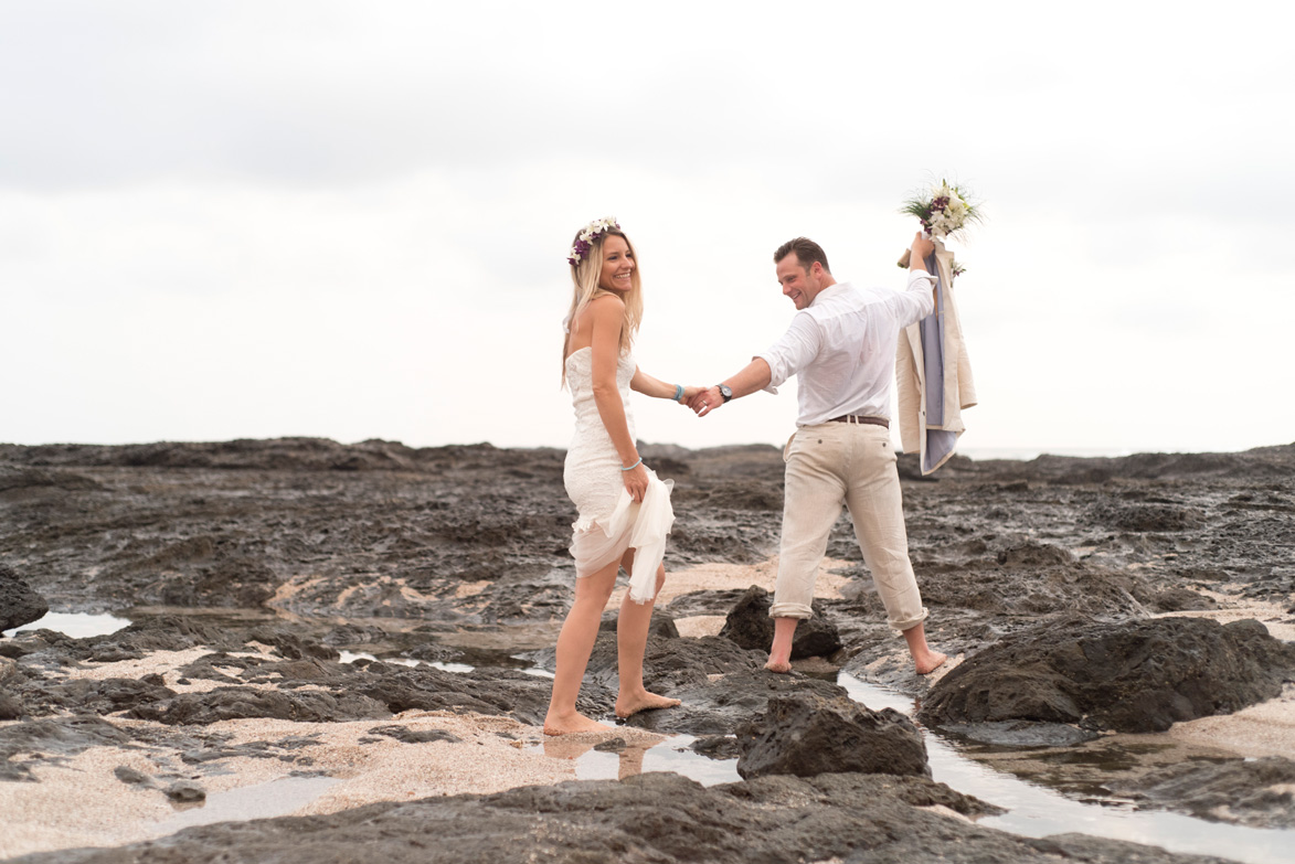 Wedding Playa Langosta Costa Rica Sneak Peek: Keeley + Steve