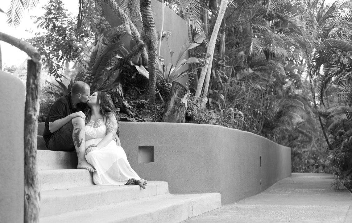 Elope in Costa Rica, Cala Luna Boutique Hotel in Playa Langosta, Costa Rica: Kristen + Jeff