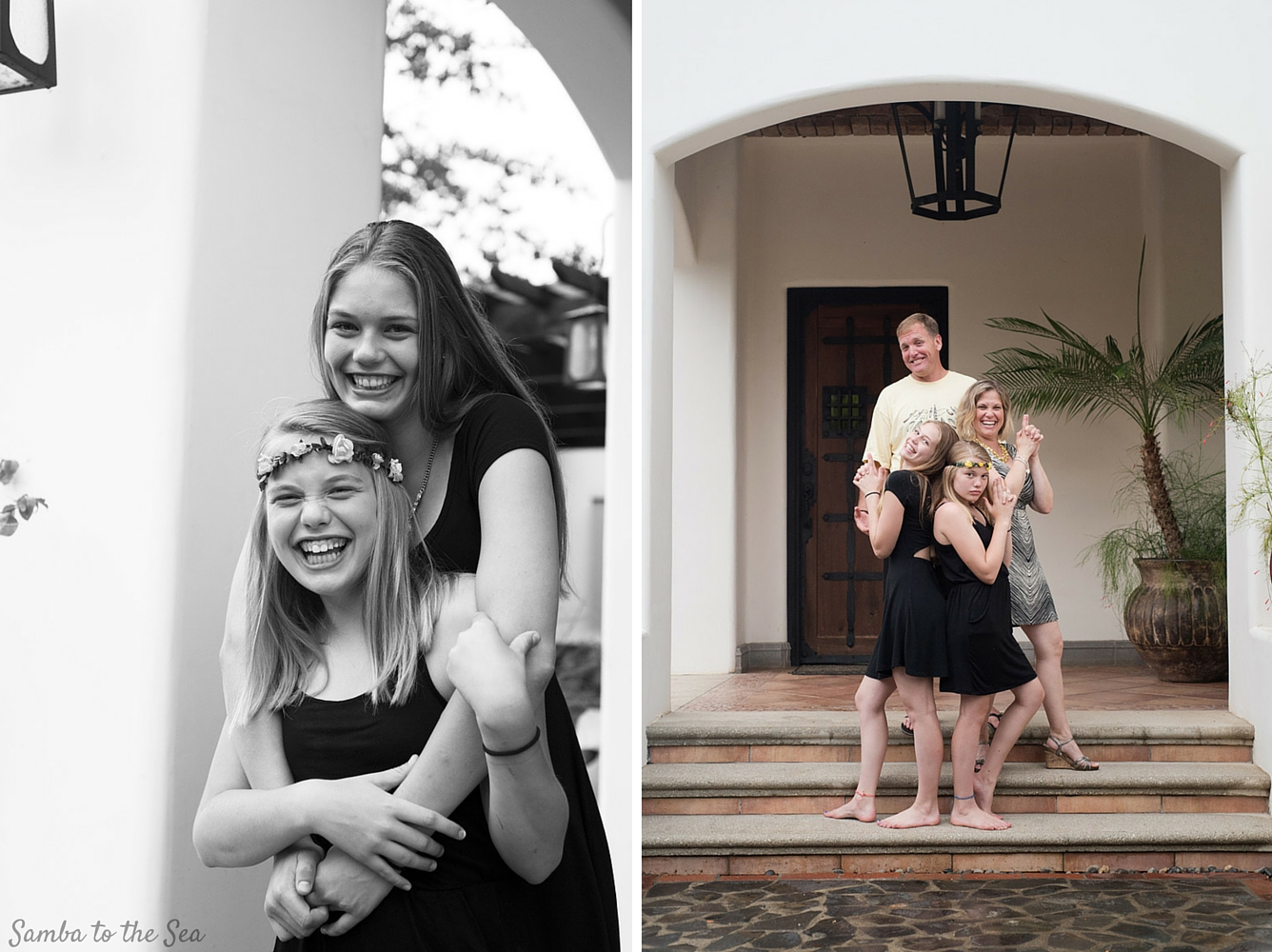 Family photos in Costa Rica. Photographed by Kristen M. Brown, Samba to the Sea Photography.