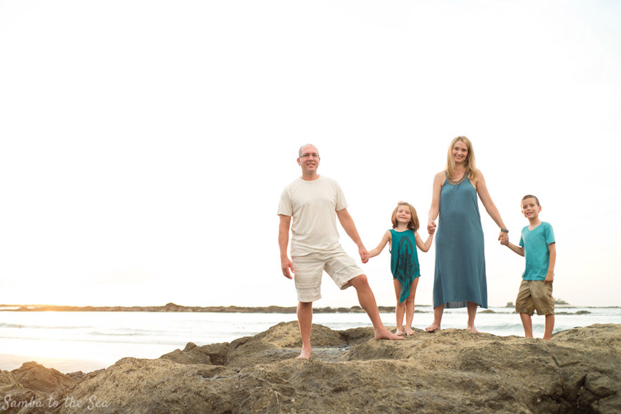 Family Photographer in Tamarindo Costa Rica. Photographed by Kristen M. Brown, Samba to the Sea Photography.
