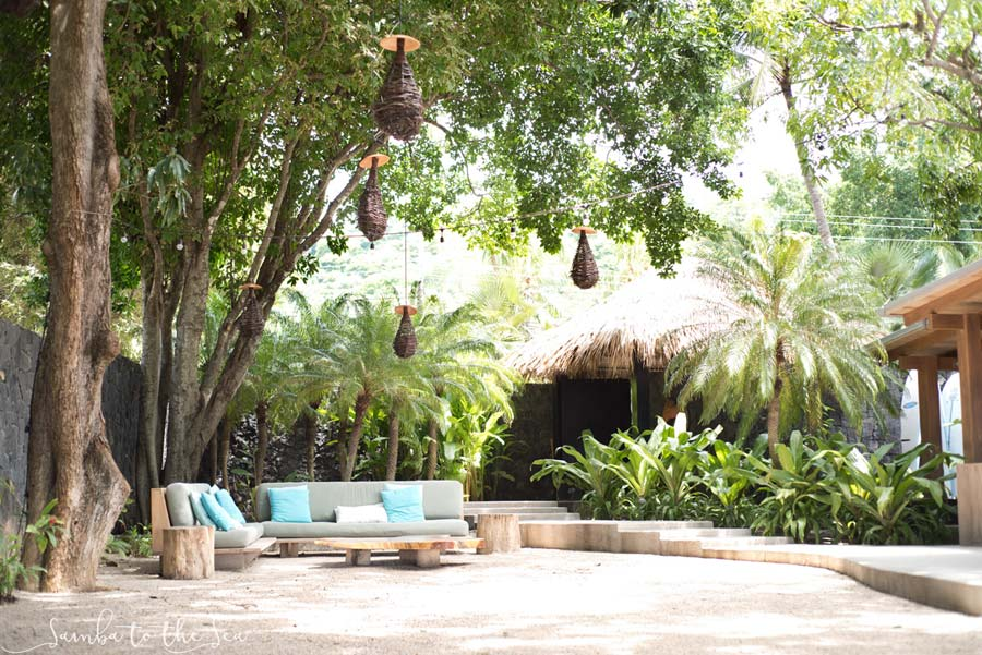 Pangas Beach Club in Tamarindo, Costa Rica. Photographed by Kristen M. Brown, Samba to the Sea Photography.
