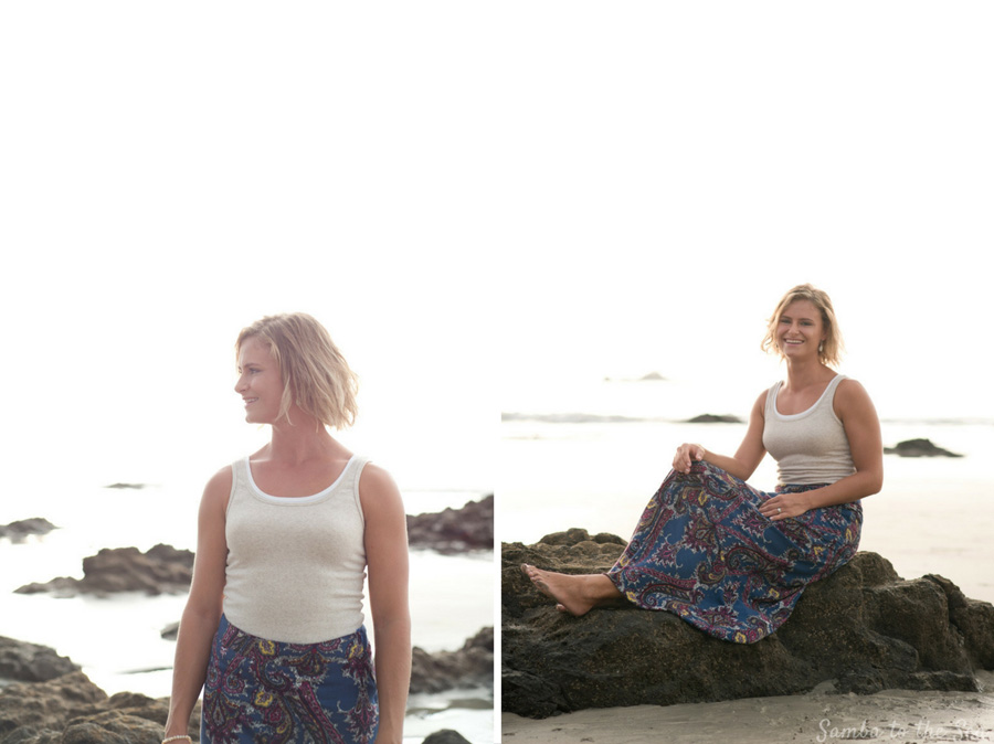 Lifestyle portraits in Costa Rica. Photographed by Kristen M. Brown, Samba to the Sea Photography.