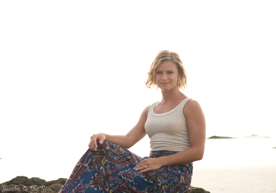 Lifestyle portraits in Tamarindo, Costa Rica. Photographed by Kristen M. Brown, Samba to the Sea Photography.