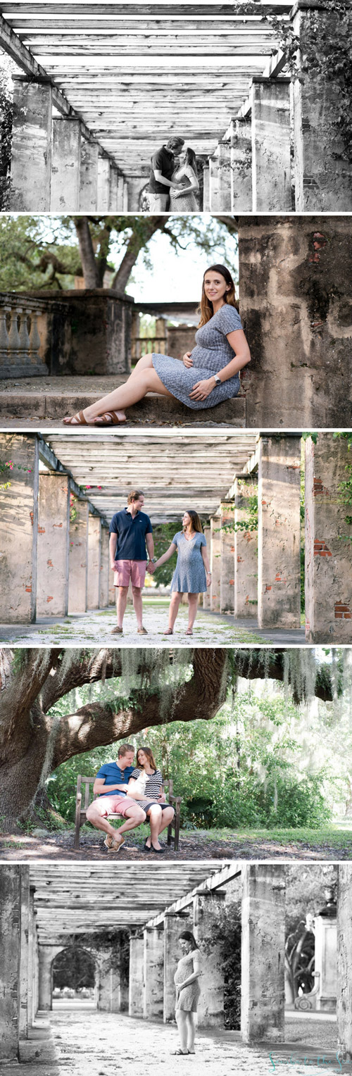 Savannah Maternity Photography - Photographed by Kristen M. Brown, Samba to the Sea Photography