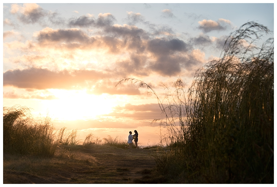 Romantic proposal in Costa Rica. Photographed by Kristen M. Brown, Samba to the Sea Photography.