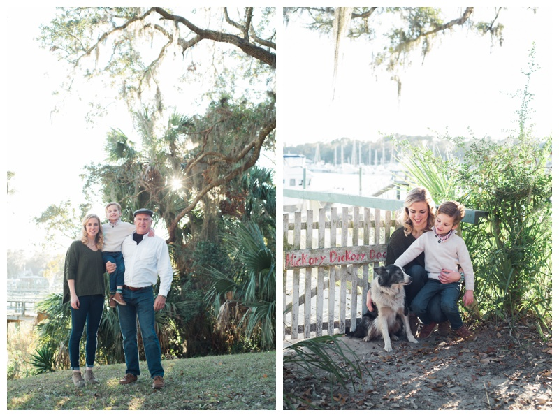 Family Photography in Isle of Hope, GA. Photographed by Kristen M. Brown, Samba to the Sea Photography.