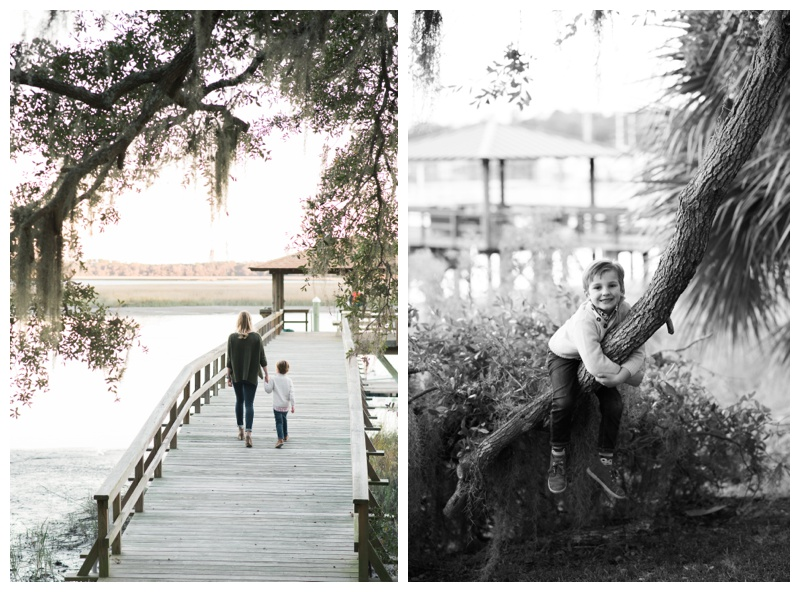 Family portraits on Isle of Hope, GA. Photographed by Kristen M. Brown, Samba to the Sea Photography.