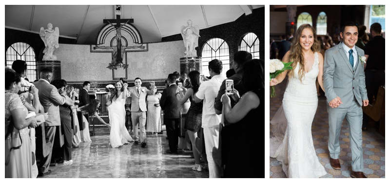 Wedding at Santa Maria Church in Tamarindo, Costa Rica. Photographed by Kristen M. Brown, Samba to the Sea Photography.