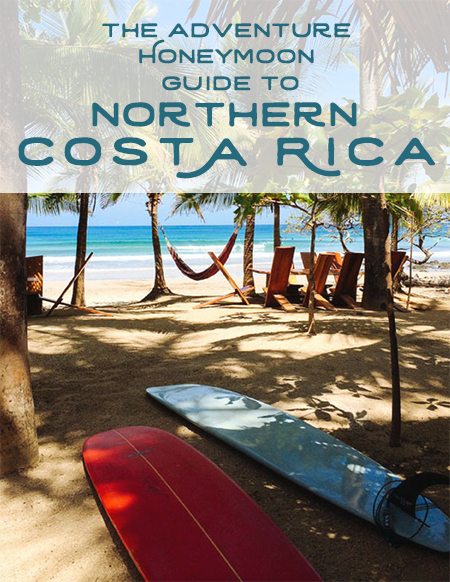 Free Guide! Adventure honeymoon in Costa Rica guide by Kristen M. Brown, Samba to the Sea.