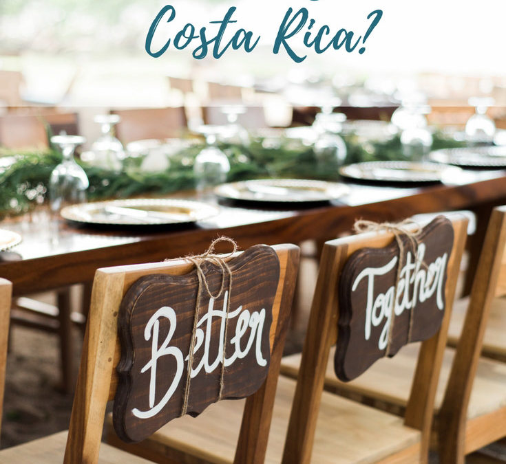 How much time do I need to plan a wedding in Costa Rica?