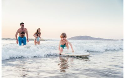Surfing Family Photos in Tamarindo, Costa Rica || Casey Family