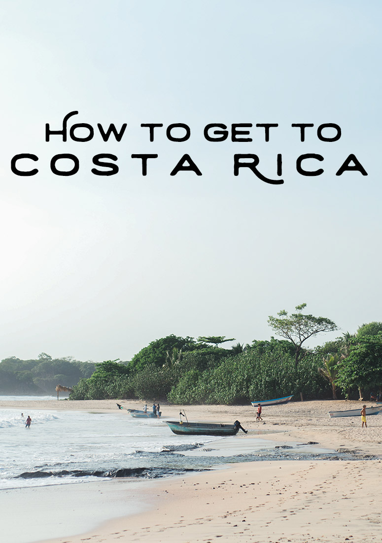 How to get to Costa Rica by Costa Rica photographer Kristen M. Brown, Samba to the Sea.