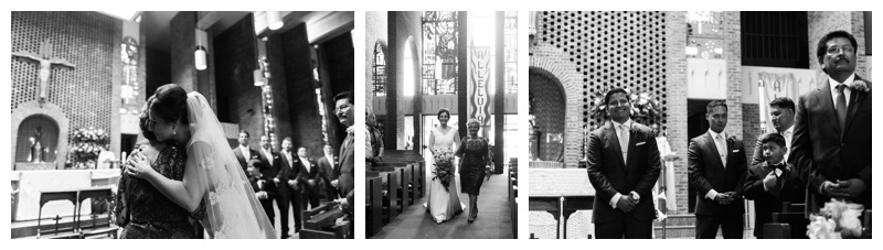 Wedding at St Anthony of Padua in Falls Church, VA. Photographed by Kristen M. Brown, Samba to the Sea Photography.