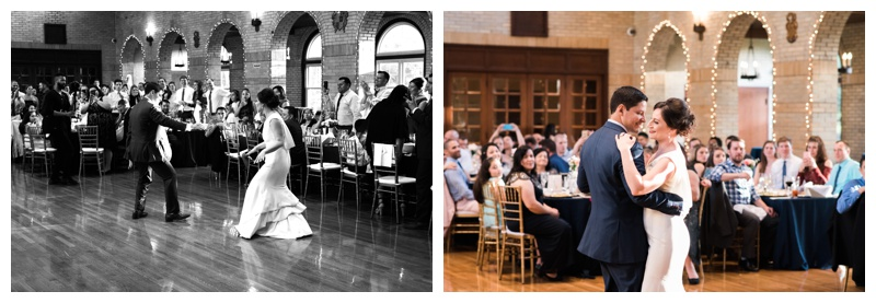 Spring wedding at St. Francis Hall in Washington DC. Photographed by Kristen M. Brown, Samba to the Sea Photography.