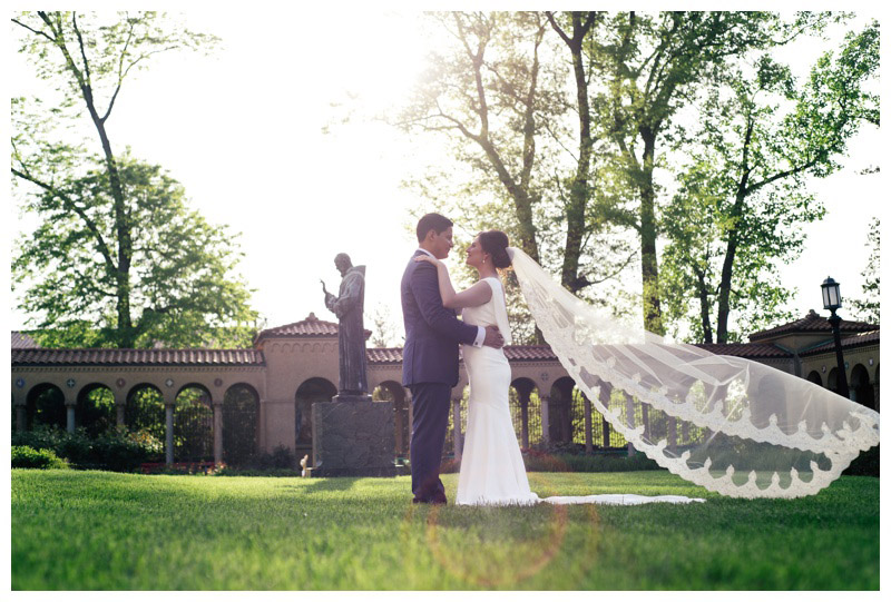 Spring Wedding at St. Francis Hall – Leila and Milver