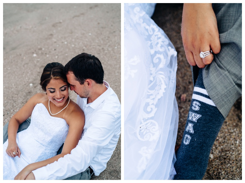 Elopement in Tamarindo. Photographed by Kristen M. Brown, Samba to the Sea Photography.