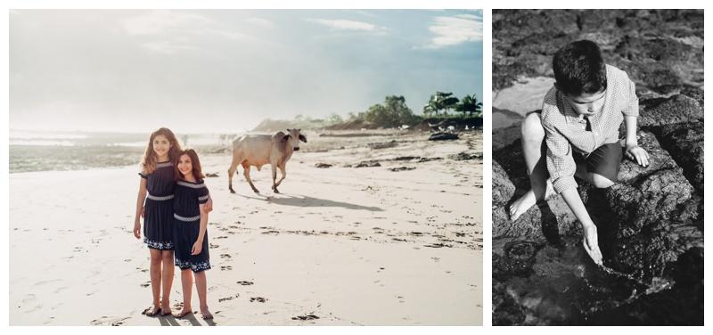 Hacienda Pinilla Family Photos in Playa Avellanas Costa Rica. Photographed by Kristen M. Brown, Samba to the Sea Photography.