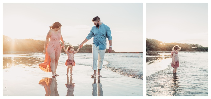 Family vacation in Tamarindo Costa Rica. Photographed by Kristen M. Brown, Samba to the Sea Photography.