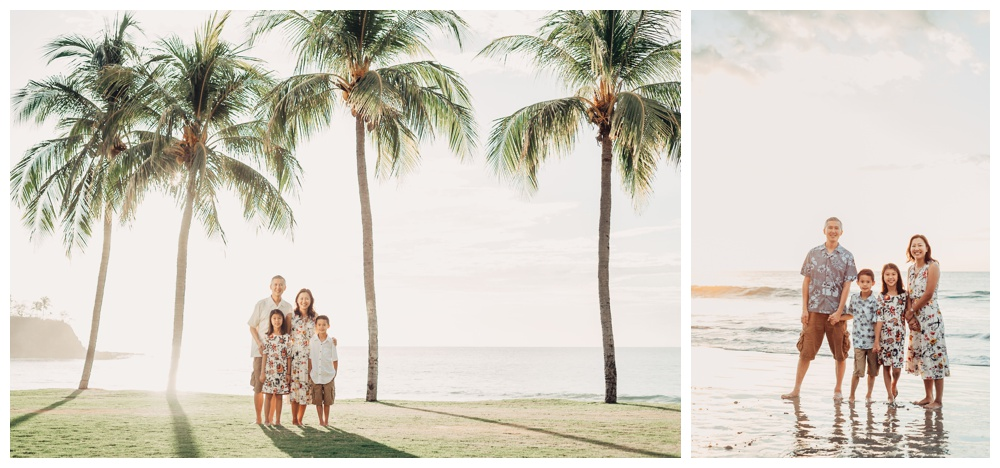 Family photos in Playa Flamingo Costa Rica. Photographed by Kristen M. Brown, Samba to the Sea Photography.