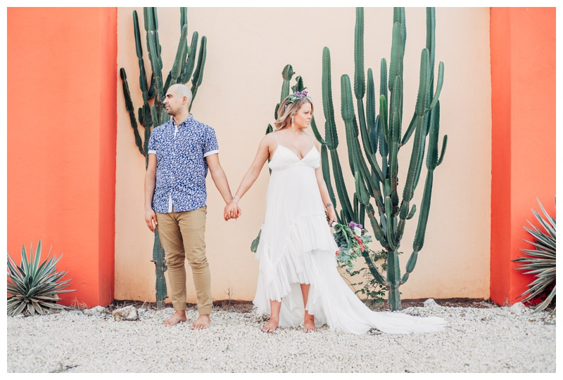 Boho Elopement in Tamarindo Costa Rica || Michelle + Ian