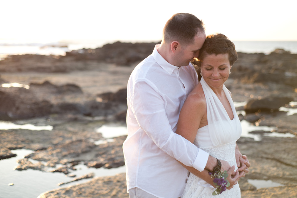 Jacinta and Ryan's elopement in Tamarindo Costa Rica. Photographed by Kristen M. Brown, Samba to the Sea Photography.
