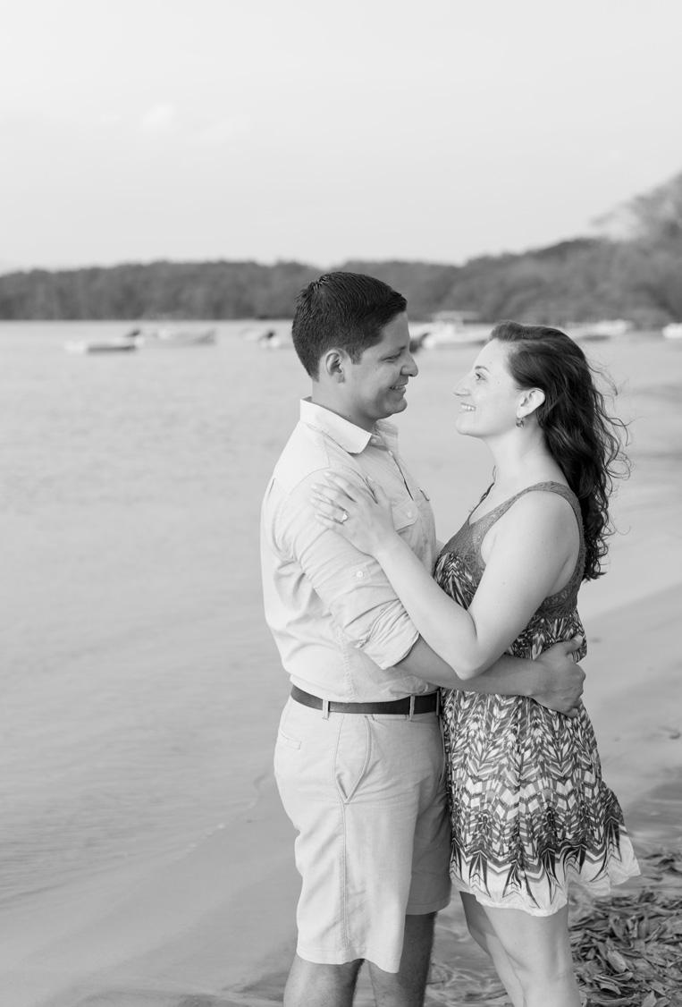 Engagement photos in Tamarindo, Costa RIca