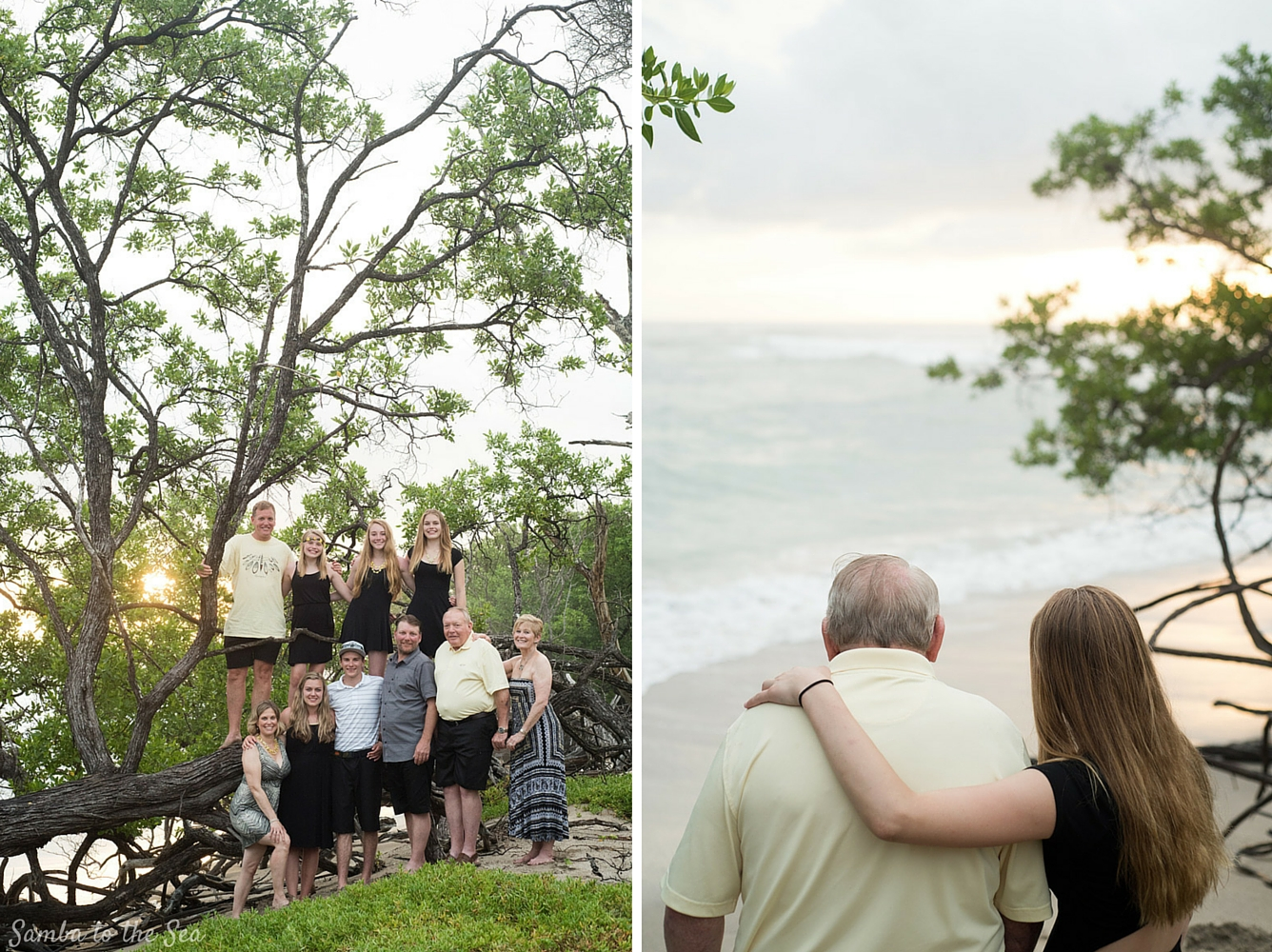 Family photos at Hacienda Pinilla in Costa Rica. Photographed by Kristen M. Brown, Samba to the Sea Photography.