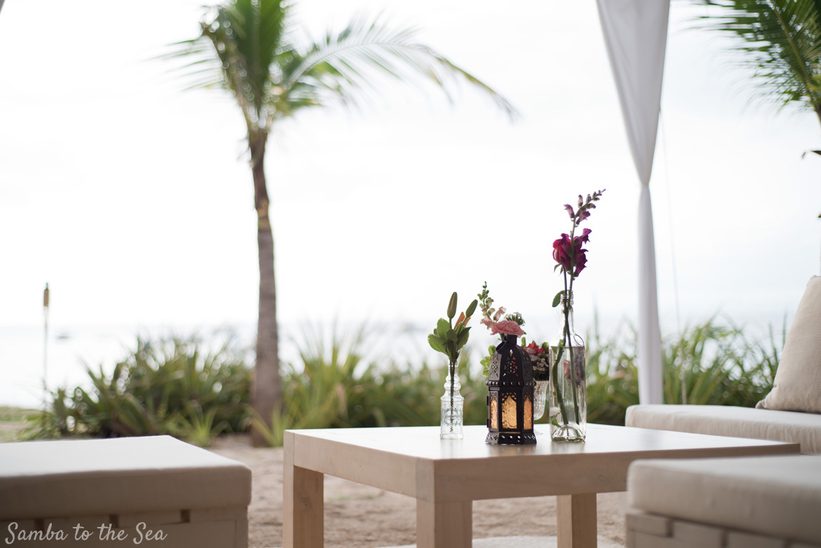 Destination wedding in Costa Rica wedding details. Photographed by Kristen M. Brown, Samba to the Sea Photography.
