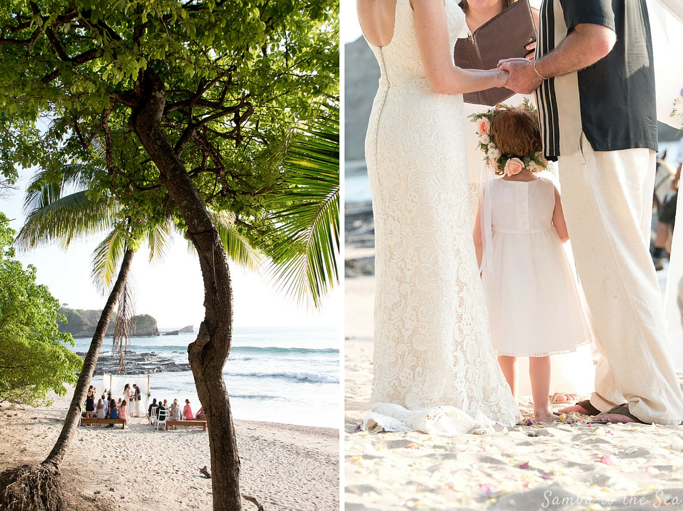 Wedding at La Luna Restaurant in Playa Pelada in Nosara, Costa Rica by Weddings Nosara. Photographed by Kristen M. Brown, Samba to the Sea Photography.