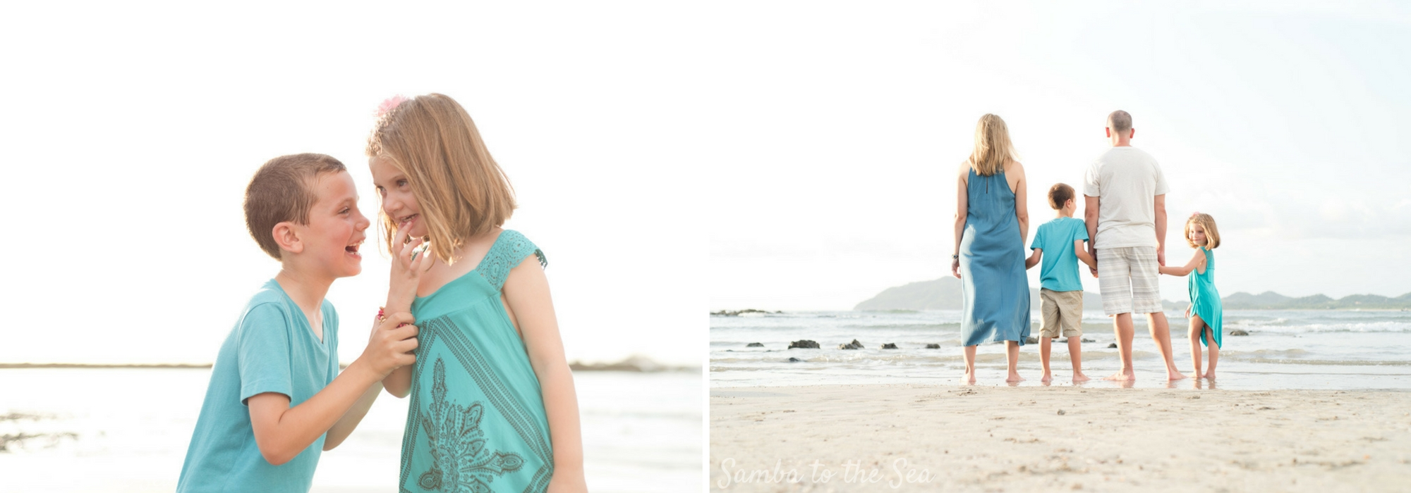Family Photographer in Tamarindo, Costa Rica. Photographed by Kristen M. Brown, Samba to the Sea Photography.
