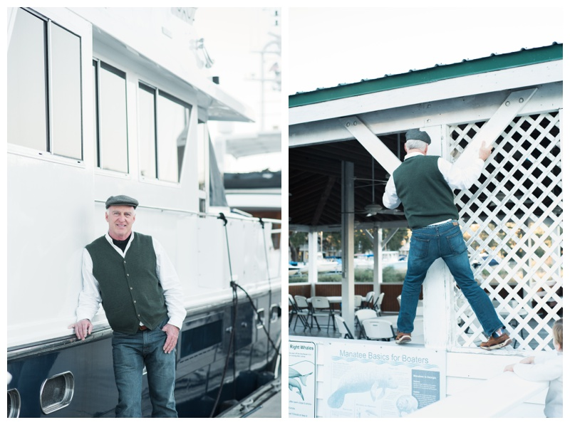 Portraits at Isle of Hope Marina in Savannah, GA. Photographed by Kristen M. Brown, Samba to the Sea Photography.