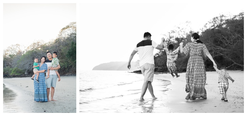 Family weekend getaway at the Andaz Papagayo, Costa Rica. Photographed by Kristen M. Brown, Samba to the Sea Photography.