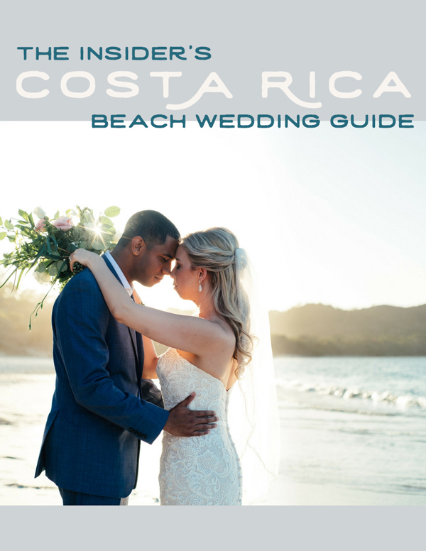 The Insider's Costa Rica Beach Wedding Guide by Kristen M. Brown, Samba to the Sea Photography.
