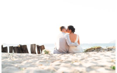 Langosta Beach Club in Tamarindo Wedding || Bern + Chris