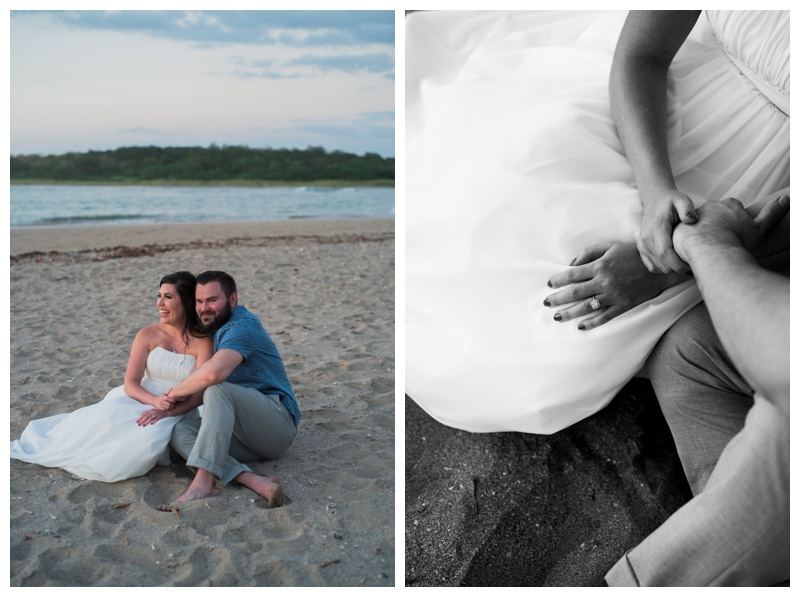 Honeymooning at the beach in Costa Rica. Photographed by Kristen M. Brown, Samba to the Sea Photography.