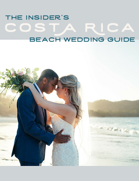 Free Guide! The Insider's Costa Rica Beach Wedding Guide by Kristen M. Brown, Samba to the Sea Photography.