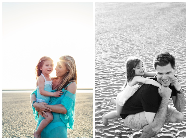 Family photos on the beach in Tamarindo, Costa Rica. Photographed by Kristen M. Brown, Samba to the Sea Photography.