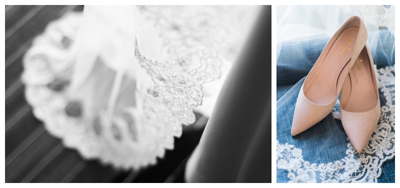 Details for spring wedding at St. Francis Hall. Photographed by Kristen M. Brown, Samba to the Sea Photography.