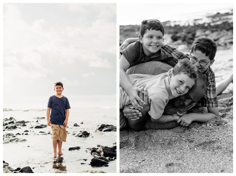 Tamarindo Costa Rica Family Photography. Photographed by Kristen M. Brown, Samba to the Sea Photography.