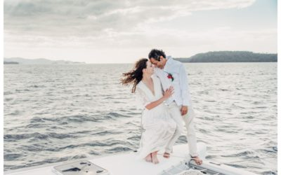 Magical Sailboat Elopement at the Andaz Papagyo in Costa Rica || Kelly + Roger:
