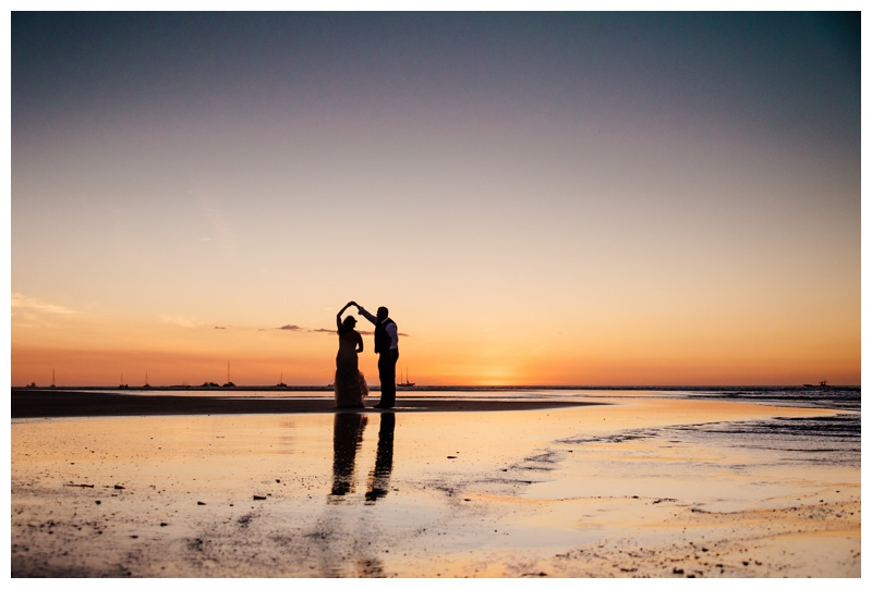 Beach Elopement in Tamarindo Costa Rica || Terri + Troy