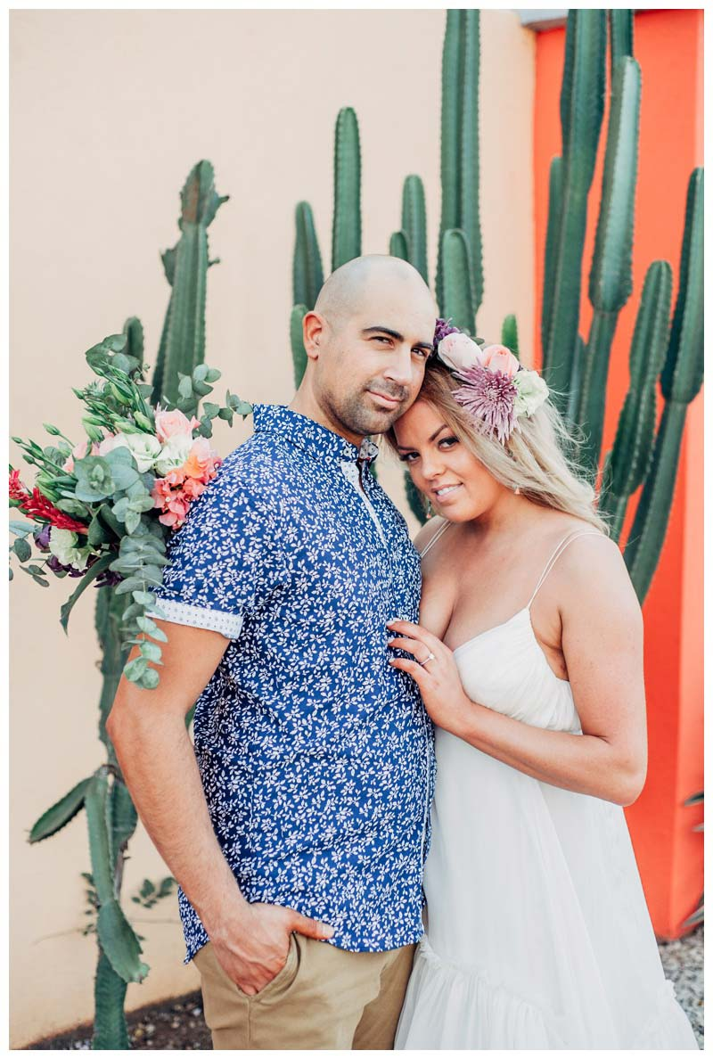 Boho elopement in Tamarindo Costa Rica. Photographed by Kristen M. Brown, Samba to the Sea Photography.