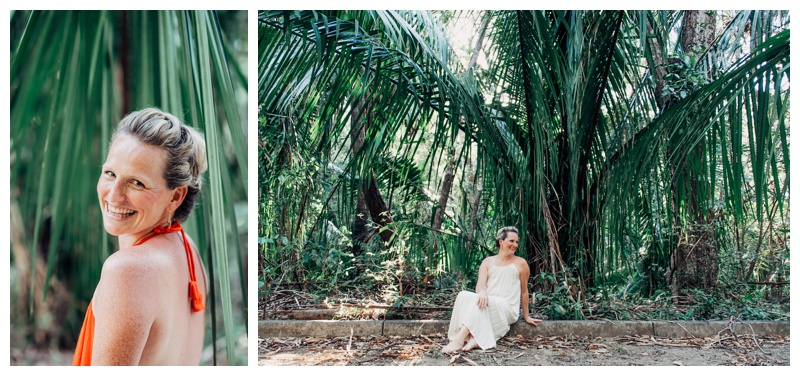 Jungle portraits in Nosara Costa Rica. Photographed by Kristen M. Brown, Samba to the Sea Photography.
