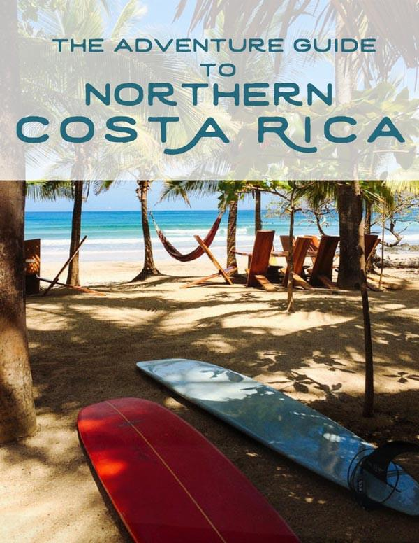Free adventure guide to Northern Costa Rica by Samba to the Sea.